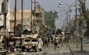 Обои улица, техника, солдаты