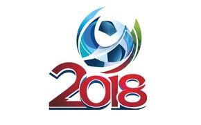 Картинка мяч, логотип, Россия, Russia, football, 2018, World Cup, Чемпионат мира, Кубок мира, ЧМ по футболу