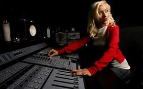 Картинка фон, певица, Christina Aguilera, студия, Кристина Агилера