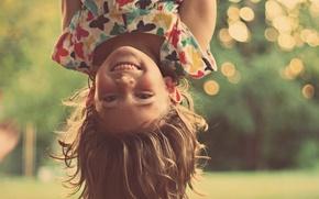 Картинка радость, счастье, дети, фон, настроения, волосы, позитив, зубы, девочка, baby, HD wallpapers, обои для рабочего …
