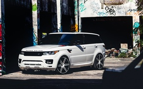 Картинка car, тюнинг, джип, внедорожник, range rover, tuning, автообои