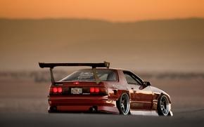 Картинка Mazda, Drift, RX-7, JDM, корч, FC3S