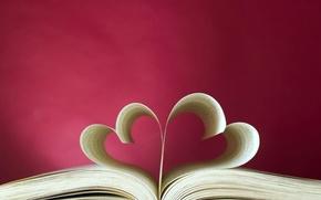 Картинка любовь, сердце, книга, love, heart, book