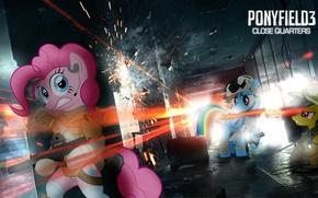 Картинка battlefield, battlefield 3, PonyField, Pony, My little pony