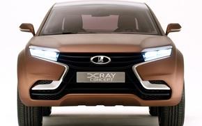 Картинка авто, concept, перед, лада, LADA, X Ray