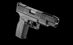 Картинка пистолет, XDm, полуавтоматический, 45 ACP, Springfield Armory