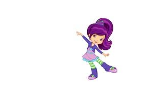 Картинка танец, арт, девочка, детская