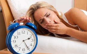 Обои sleeping, sleepy, retro alarm clock
