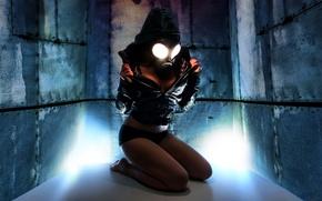 Картинка Девушка, Игра, Косплей, Gas Mask