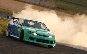 Обои авто, Drift, Silvia