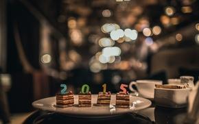 Обои 2015, праздник, торт