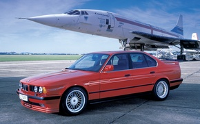 Обои auto, Alpina tuning, 5 Series E34