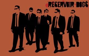 Картинка фильм, обои, вектор, картинка, Бешеные псы, Reservoir Dogs