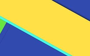 Картинка линии, синий, желтый, геометрия, design, color, material