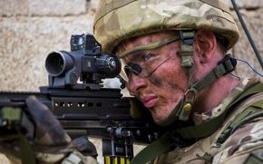 Картинка оружие, солдат, Royal Marine Commandos