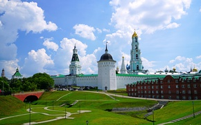Картинка церковь, Москва, храм, Russia, Trinity, Temples, Lavra