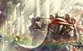 Картинка Horus Heresy, Warhammer 40000, Word Bearers, The Purge, Anthony Reynolds, Sor Talgron
