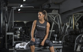 Обои thought, gym, sportswear, leisure, fitness