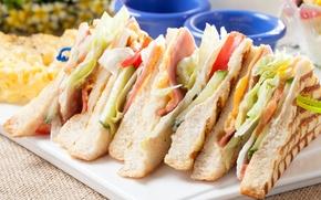 Картинка хлеб, овощи, начинка, бутерброды