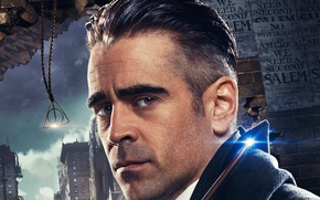 Картинка cinema, USA, magic, New York, man, movie, Harry Potter, Colin Farrell, film, wizard, witch, spell, ...
