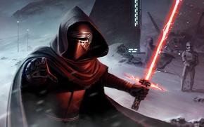 Картинка Star Wars, арт, Звездные войны, Kylo Ren