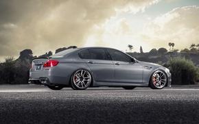Картинка бмв, BMW, F10, rearside
