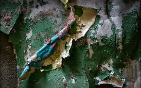 Картинка стена, краска, старая