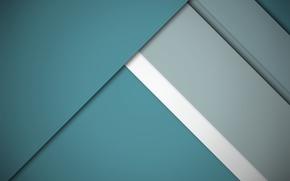 Картинка белый, серый, голубой, геометрия, design, color, material