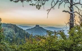 Картинка Germany, Castle, Burg Hohenzollern
