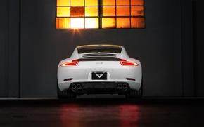 Картинка Porsche, порше, Coupe, Carrera, rear, Edition, 991, V-GT