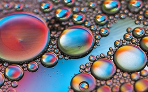 Картинка пузырьки, цвет, жидкость, воздух, объем