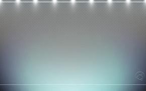 Картинка панель, текстура, логотип, точки, подсветка, эмблема, ubuntu, светлый фон, убунту, lucid