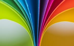 Картинка макро, бумага, цвет
