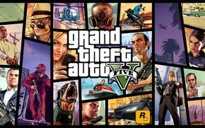 Картинка лого, арт, art, Grand Theft Auto 5