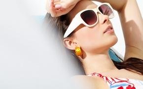Картинка sexy, sunglasses, woman