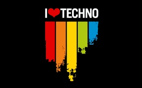 Обои Love, Techno, Music