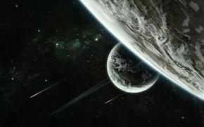 Картинка космос, звезды, планеты, space, stars, planets