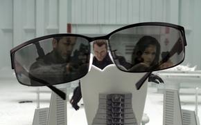 Картинка отражение, комната, очки, Обитель зла, Resident Evi