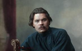 Обои писатель, портрет, Алексей Пешков, Максим Горький