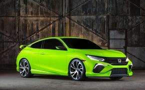 Картинка Concept, концепт, Honda, хонда, Civic, цивик, 2015