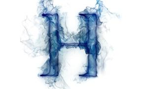 Картинка дым, газ, буква, литера