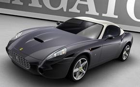 Картинка авто, серый, Ferrari 575