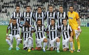 Обои Футбол, Игроки, Ювентус, Juventus, Спорт, Команда