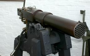 Картинка оружие, огонь, Французская, название, Гатлинга, орудия, XIX, века, полностью, вело, пулемета, калибра, артиллерийского, второй, половине, ...