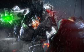 Картинка дождь, fight, atlas, titan
