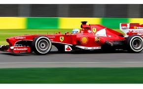 Картинка ferrari, formula1, alonso