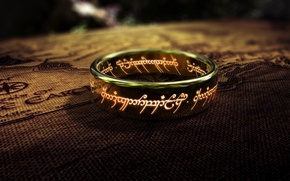 Обои the lord of the rings, Властелин колец, кольцо всевластья