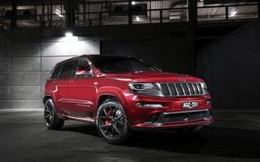 Картинка джип, внедорожник, гранд чероки, Jeep, Grand Cherokee
