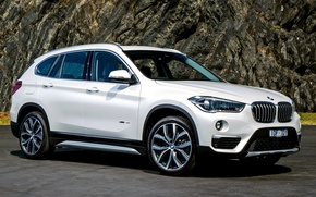 Картинка BMW, белый, кроссовер, F48, бмв