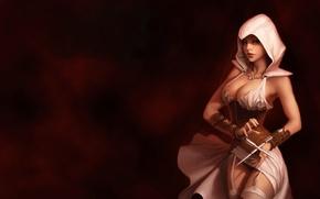 Обои девушка, орден, Assassin's Creed, ассассинка, ассассины